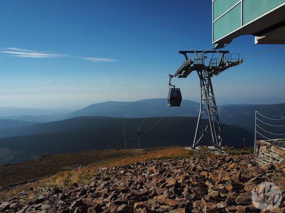 Die Schneekoppe - Bergstation