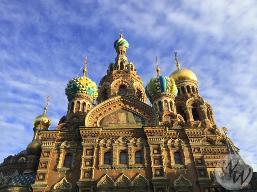 Für mich das imposanteste Gebäude St. Petersburgs - die Blutskirche