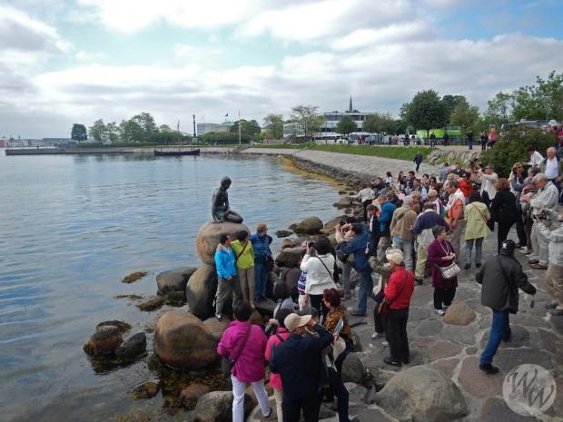 Die Kleine Meerjungfrau ist für mich kein Highlight - für 1000ende Touristen schon