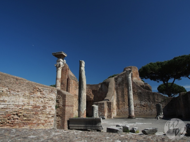 Alte Bauwerke in Ostia