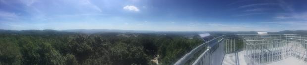 Die Aussicht vom Ottoturm