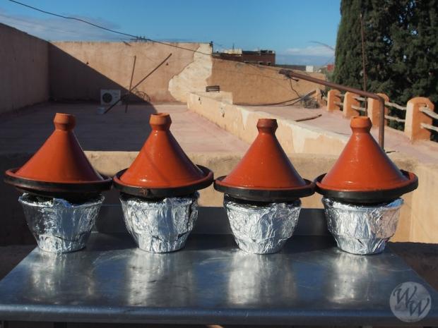 Die arabische Küche ist vorzüglich. Hier bei einem Kochkurs in Marokko.